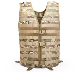 TacTical vesT green online shopping - New Fashional Outdoor VIP Molle Tactical Vest Duty Training Vest Multi functional Waterproof Breathable Hunting Vest for Sale
