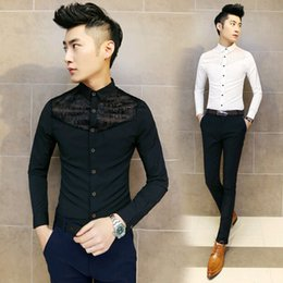 Discount Korean Designer Shirts | 2017 Korean Designer Men Shirts ...