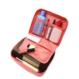 Beauty Bedding UK - Wholesale- Women Travel Organization Beauty cosmetic Make up Storage Cute Lady Wash Bags Handbag Pouch Accessories Supplies item Products