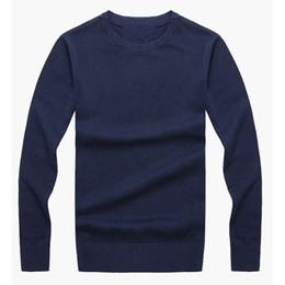 Ingrosso Il trasporto libero 2017 nuovo pullover uomini maglioni di alta qualità marchio maglione sottile pullover pullover pullover uomini O-collo taglia S-XXL