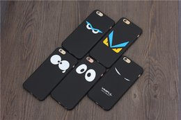 $enCountryForm.capitalKeyWord Canada - Luxury big eye Hard PC cover funda Case Coque For iPhone5 5s 6 6s Plus Scrub Matter Back Cover Couple Cases