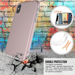 $enCountryForm.capitalKeyWord Canada - For iPhone 8X TPU PC Shockproof Matte Phone Case Slim Hybrid Armor Phone Case Cover For iPhone 7 Plus Samsung S8 Note 8