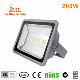 outdoor wall lights led Canada - outdoor lighting application outdoor wall 200W LED floodlight high power cool white color temperature 4pcs lot