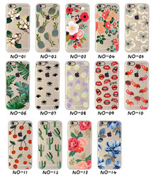 $enCountryForm.capitalKeyWord Canada - New Arrival Ultrathin Soft TPU Case for iphone 5 5s SE 6 6s 6plus Flowers Daisy Plants Fruit Cactus pattern Phone Case Cover