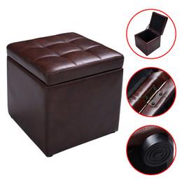 Ящик для хранения гостиной пуфы кресла с шарниром топ