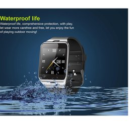 Analog Digital Camera Canada - GV18 Smart watches, bluetooth function, music player, sport mode, dialing function, mail list,camera,video recording function wristwatches