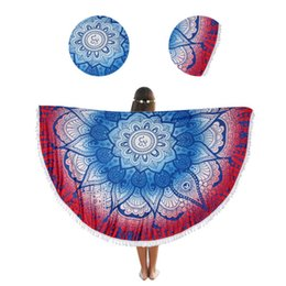 $enCountryForm.capitalKeyWord UK - 150cm Orange Tapestry Mandala Round Blanket Summer Beach Towel Skirt Diameter