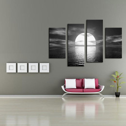Bright Oil Paintings Canvas line