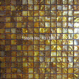$enCountryForm.capitalKeyWord Australia - Factory Special offer;Free shipping mosaic tile gold Shell Mosaic Mother of Pearl Tile Bathroom Wall Kitchen Backsplash