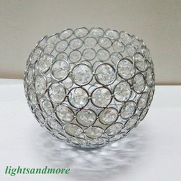 "$enCountryForm.capitalKeyWord NZ - 12pcs lot 6"" wide round globe shape crystal beaded votive candle holders for event wedding decor wedding centerpieces flower stand"