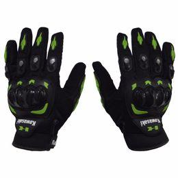 Gloves motorcycle motorbike online shopping - 1 Pair Kawasaki Full Finger Guantes Motorcycle Gloves Motorbike Luva Moto Motocicleta Motocross Guantes Gloves M L XL XXL