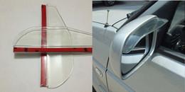 $enCountryForm.capitalKeyWord Canada - Universal Flexible PVC Car Accessories Rearview Mirror Rain Shade Rainproof Blades Car Back Mirror Eyebrow Rain Cover 2Pcs  pair