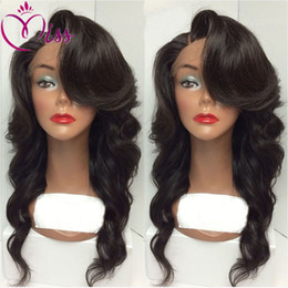 Long Hair Wave Style Australia - Fashion Style 180% Density Full Lace Human Hair Wigs For Black Women 7A Brazilian Wig Body Wave Lace Front Human Hair Wigs