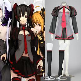 $enCountryForm.capitalKeyWord Canada - Free Shipping NEW Cosplay Vocaloid Zatsune Miku Cosplay Costume High Quality Clothes For Girl's Women Pretty Dress