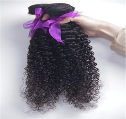 Human hair extensions supplies canada best selling human hair supply mongolian kinky curly hair extension 2 3pcs afro kinky curly virgin human hair weave natural black color pmusecretfo Choice Image