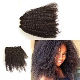 $enCountryForm.capitalKeyWord Canada - African American Clip in Human Hair extension Full Head Mongolian Virgin Hair afro Kinky Curly Clip ins LaurieJ Hair
