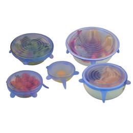 New Arrive Универсальная силиконовая всасывающая крышка-чаша для кастрюльки крышка-кремниевая стрейч-крышка силиконовая крышка для кухонной посуды