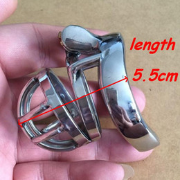 $enCountryForm.capitalKeyWord Canada - Chastity Devices Male Chastity belt male stainless steel ball stretcher sex ring for men male cock lock device