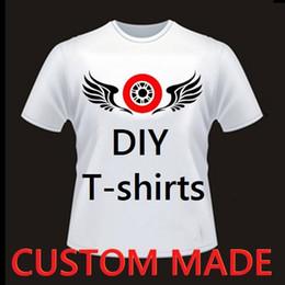 c603d626432726 Custom Sports T Shirt Canada - DIY Custom Made Fashion Sports Men Woemn  Summer Short Sleeves