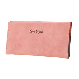 Big Long Wallets Canada - Big Sales!!! New Fashion Women Purse Soft PU Leather Candy Color Casual Long Wallet Card Holder High Quality Women's Purse