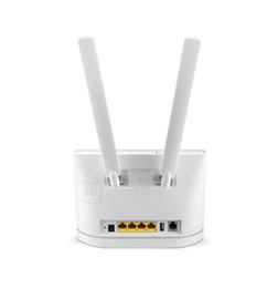 Color blanco 5dbi 2pcs 4G LTE antena huawei b593 B890 B315 B310 B880 con conector sma