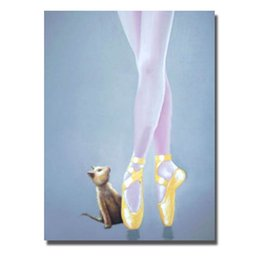 Painting Art Sexy Picture Canada - Sexy girls art painting ballet dancing girl sexy dressing pictures hand painted no framed wall decor pop art sex women