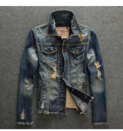 $enCountryForm.capitalKeyWord Canada - European street fashion new arrival stone washed denim jacket men spring-autumn wear jeans vintage denim jeans jacket BL130169