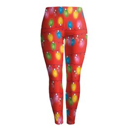 $enCountryForm.capitalKeyWord Canada - Wholesale free shipping New Arrival Print Women Leggings Legging Christmas Colored Bulb Leggins Sexy Silm Legins Women Pant