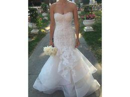 Dress Cor Australia - Mermaid Sweetheart COR-1056 Tiered Luxury Lace Ruffles Vestido De Noiva Bridal Gown Wedding Dresses Custom Made Vintage