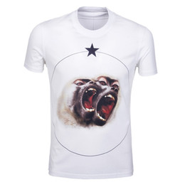 3c072577 2016 fashion summer style new men t-shirt cotton star 3D monkey tshirt  short sleeve casual Camiseta t shirt brand moneky tshirts