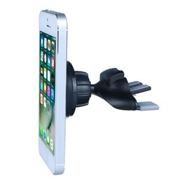 Wholesale Universal CD Slot Magnetic Cradle less Support Smartphone Car Mount Holder for iphone plus Cell Phones Smartphones