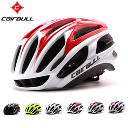 Helmet cycling green online shopping - CAIRBULL Super Light Cycling Helmet Integrally Molded Breathable Vents Safety Bike Helmet Lightweight Road MTB Bicycle Mountain Helmet
