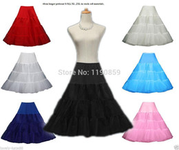 Jupes Nacelles Nettes Pas Cher-expédition Marque gros-Free 46cm New Retro Underskirt Balançoire Jupe Vintage Petticoat Fancy Rockabilly Tutu Fancy Net Jupe Rockabilly 2