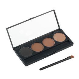 $enCountryForm.capitalKeyWord UK - New Professional 4 Colors makeup eyebrow powder palette eye brow enhancer makeup Palette set with eyebrow brush Free DHL