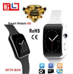 Kids boxing online shopping - X6 Smartwatch Sport Watch Phone for All Smart Phone with Camera FM Support SIM Card With the Retail Box