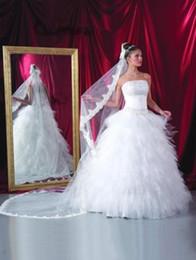 $enCountryForm.capitalKeyWord Canada - New Vintage Elegant Luxury Bridal Veils Lace applique veil Bridal Veil one layer Three Meters cathedral Long White Ivory Wedding Veil