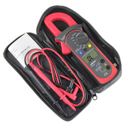 clamp multimeter ac dc Australia - Freeshipping Digital Clamp Multimeters AC DC Voltz ST-201 Digital Auto Range Clamp Multimeter Tester Meter DMM AC DC Volt Ohm