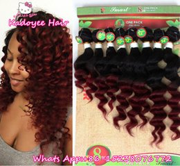 Dhgate Curly Hair NZ - Dhgate recomend hair Wholesale 8pcs Human Hair Weft brazilian unprocessed hair bundles for black women 1 pack for full head no shedding