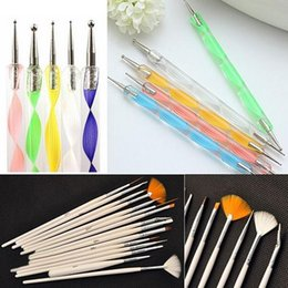 Wholesale 200packs Designed Nail Art Salon Design Set Dotting Painting Drawing Polish Brushes Pen Tools