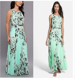 Bohemian long dress style