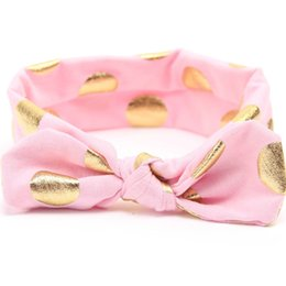 Baby Infant Hair Bands Canada - Baby Headband Knot 2016 new Kids polka dot Headbands Children Head band Girls Headwrap infant Head wrap Hairband Hair bands hair accessories