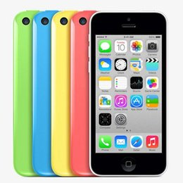 Wholesale iphone 5c camera for sale - Group buy 100 Original Refurbished iPhone C iPhone5C inch Smartphone Dual Core GB RAM GB GB ROM G WCDMA MP Camera Unlocked Phones
