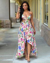 Discount Long Summer Dresses Low Cut | 2017 Long Summer Dresses ...