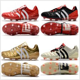 23964e29d94d ... wholesale cheap 2017 mens adidas predator mania champagne fg soccer shoes  football boots lows men soccer