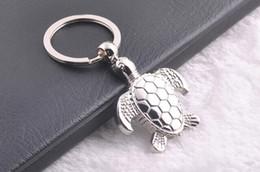 $enCountryForm.capitalKeyWord Canada - FREE SHIPPING BY DHL 200pcs lot 2015 New Zinc Alloy Turtle Shaped Keychains Novelty Metal Keyrings Gift animals key ring