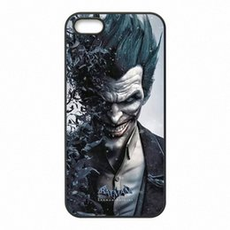 cases for iphone batman NZ - marvel Batman joker Phone Covers Shells Hard Plastic Cases for iPhone 4 4S 5 5S SE 5C 6 6S 7 Plus ipod touch 4 5 6