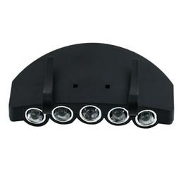 $enCountryForm.capitalKeyWord UK - New 5 LED Fishing Camping Head Light HeadLamp Cap Hot Sale
