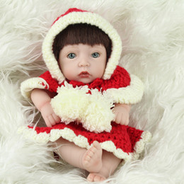 $enCountryForm.capitalKeyWord Canada - 10'' Mini Reborn Baby Boy Doll Full Limbs Opened Eyes Soft Silicone Reborn Baby Dolls Lifelike kits Model