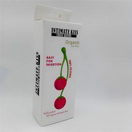 $enCountryForm.capitalKeyWord Canada - 14*3.5cm Women Silicone Cherry Kegel Vagina Exercise Balls Masturbation Massager Vibrator sex toy for women
