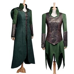 $enCountryForm.capitalKeyWord Canada - 2016 Hot Original High Quality The Hobbit Desolation of Smaug Tauriel Cosplay Costume Suit COS Clothing Custom Made
